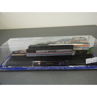 AMER COM COLLECTION, F40PH 1976 Amtrak, Diecast, Scale 1:160, Locomotive