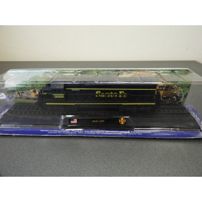 "AMER COM COLLECTION, SD45 1965 ""Santa Fe"", Diecast, Scale 1:160, Locomotive"