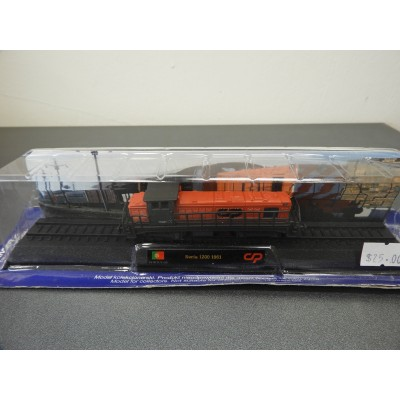 AMER COM COLLECTION, Seria 1200 1961, Diecast, Scale 1:160, Locomotive