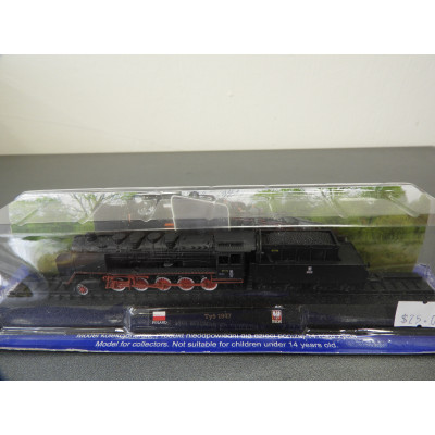 AMER COM COLLECTION, Ty5 1947 P.K.P., Diecast, Scale 1:160, Locomotive