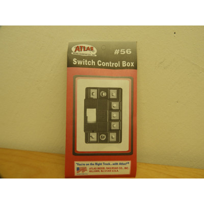 ATLAS MODEL RAILROAD CO., INC., Switch Control Box, #56