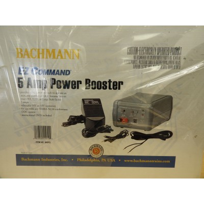 BACHMANN, E-Z Command 5 Amp Power Booster, ITEM NO. 44910