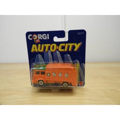 CORGI, AUTO CITY GARBAGE TRUCK, HO Scale, DIECAST, 93177