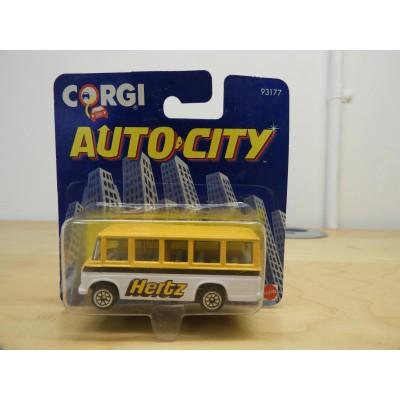 CORGI, AUTO CITY Hertz BUS, DIECAST, 93177