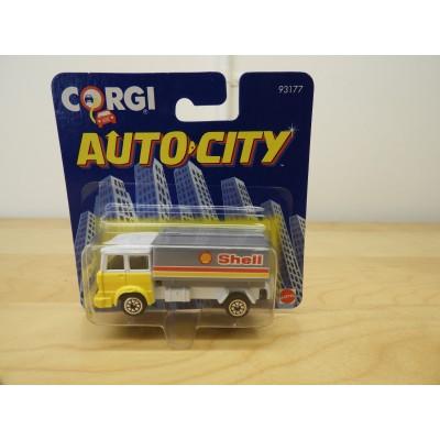 CORGI, AUTO CITY SHELL TRUCK, DIECAST, 93177