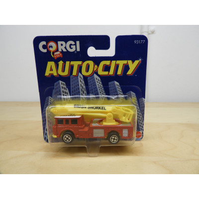 CORGI, AUTO CITY SIMON SNORKEL FIRE DEPT., DIECAST CAR, 93177