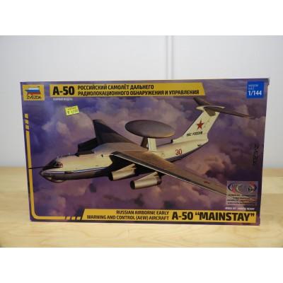 "ZVEVDA, A-50 ""MAINSTAY"". 1/144 SCALE. PLANE KIT, 7024"