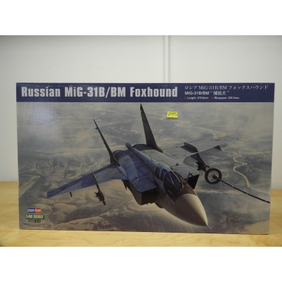 HOBBY BOSS, RUSSIAN MG-31B/BM FOXHOUND, 1/48 SCALE. ITEM NO: 81754