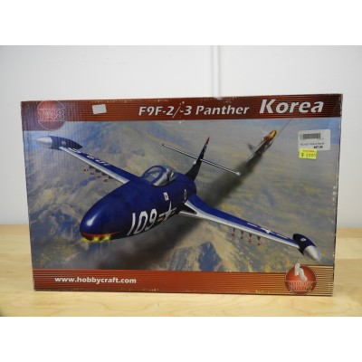 HOBBY CRAFT, F9F-2/-3 PANTHER KOREA, 1/48 SCALE, ITEM NO: HC1421