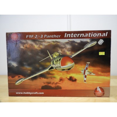 HOBBY CRAFT, F9F-2/-3 PANTHER INTERNATIONAL, 1/48 SCALE, ITEM NO: HC1456