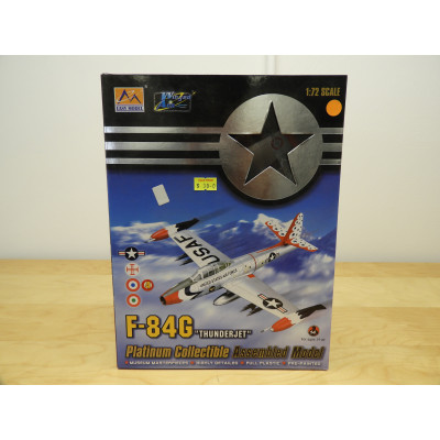 EASY MODEL, F-84G THUNDERJET, 1/72 SCALE, ITEM NO: 36803