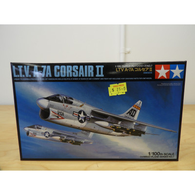 TAMIYA L.T.V  A-7A CORSAIR II, 1/100 SCALE, ITEM NO: 61607