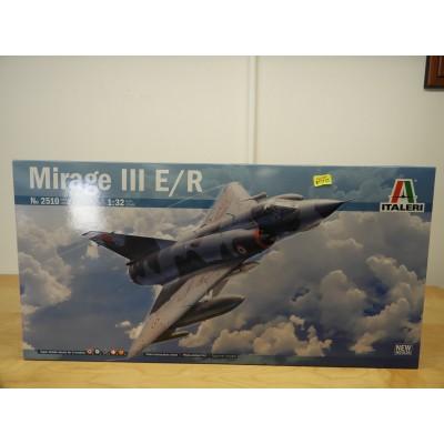 ITALERI, MIRAGE III E/R, 1/32 SCALE, ITEM NO: 2510