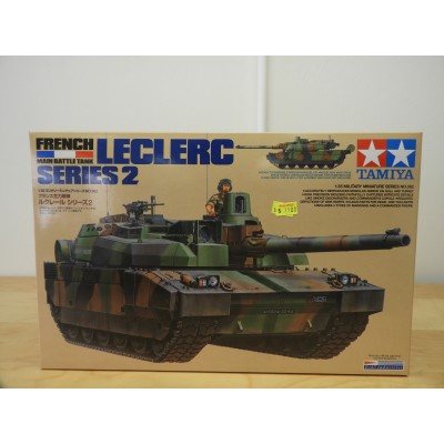 TAMIYA, FRENCH MAIN BATTLE TANK, LECLERC, 1/35 SCALE, ITEM NO: 35362