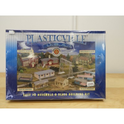 BACHMANN, MODEL BUILDING, PLASTICVILLE USA GREEN HOUSE, 45615