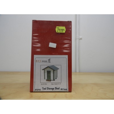 BST, MODEL BUILDING, TOOL STORAGE SHED, 27112