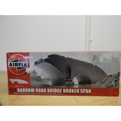 AIFIX, MODEL BUILDING, NARROW ROAD BRIDGE BROKEN SPAN, A75012