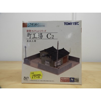 TOMYTEC, MODEL BUILDING, DIORAMA COLLECTION, 1/150 N SCALE,  C2