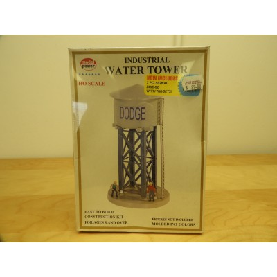 MODELPOWER, MODEL STRUCTURE, INDUSTRIAL WATER TOWER, HO SCALE, ITEM NO: 552