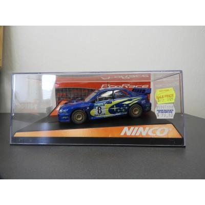 "SCX Scalextric Slot Ninco 50328 Subaru WRC ""New Zealand '03"" ProRace. 1/32 SCALE"