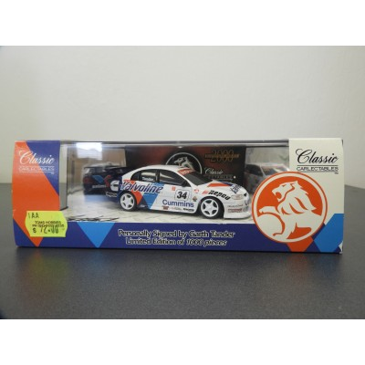 CLASSIC 1/43 SIGNATURE SERIES G TANDER HOLDEN COMMODORE PERSONALLY SIGNED #43019