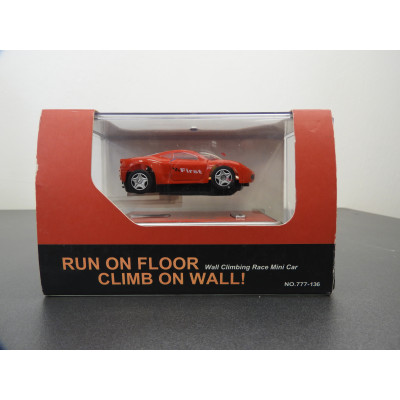WALL CLIMBING RACE MINI CAR, FIRST, DIECAST, NO: 777-136
