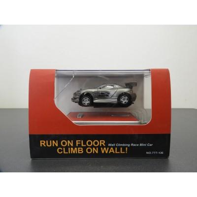 WALL CLIMBING RACE MINI CAR, TECHNO WALKER,, DIECAST, INFRARED CONTROL, 1/58, NO: 777-136