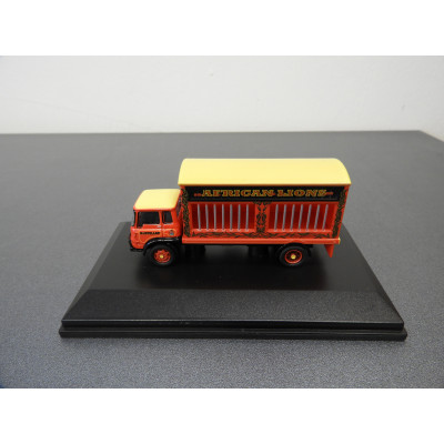 HORNBY, BARTELLOS BIG TOP CIRCUS VEHICLES, LIONS TRUCK , 1/76 SCALE, 69-R7037
