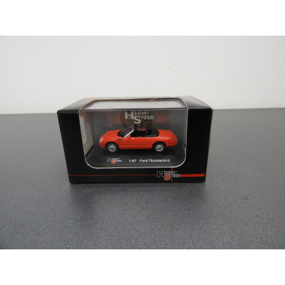 MODEL COLLECTION, FORD THUNDERBIRD, SCALE 1:87, ITEM NO: 87KFB15S