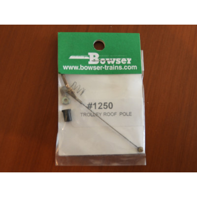 BOWSER, OPERATING TROLLEY ROOF POLE, ITEM: 1250