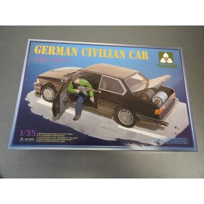 TACOM 1/35, GERMAN CIVILIAN CAR, w/Gas Rockets, ITEM NO: 2005
