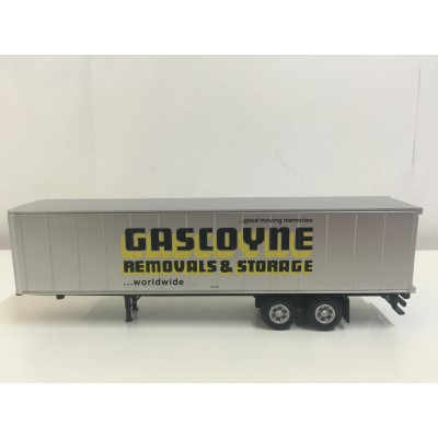 GASCOYNE REMOVALS & STORAGE, PLASTIC TRAILER