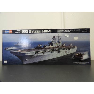 HOBBY BOSS, USS Bataan, LHD-5, Boat Kit, Scale 1/700, NO.: 83406