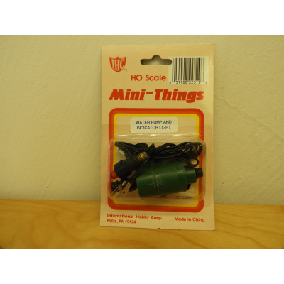 IHC, Mini-Things WATER PUMP AND INDICATOR LIGHT, HO Scale, ACCESSORIES, 42-2319