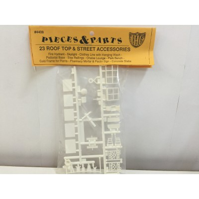 IHC, PIECES & PARTS 23 ROOF TOP & STREET ACCESSORIES, PLASTIC ACCESSORIES, #4408
