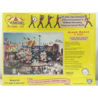 IHC, Carnival Break Dance, HO Scale 1:87, PLASTIC KIT, # 5131