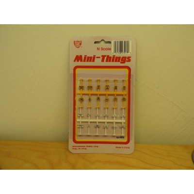 IHC, Mini Things SIGNS, N Scale, PLASTIC ACCESSORIES, 52-7013