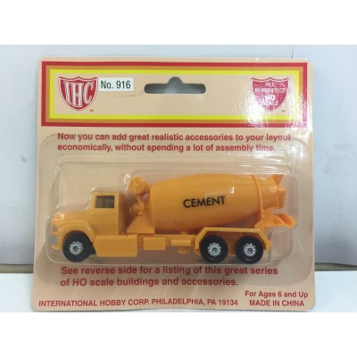 IHC, Cement Mixer, HO Scale, No. 916