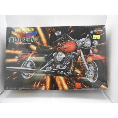 IMAI, HARLEY-DAVIDSON GREAT BUFFALO, Scale 1:12, PLASTIC MOTORCYCLE KIT, B-2351-2200