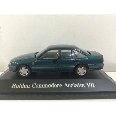 PARADISE GARAGE, KIRA AQUA METALLIC Holden Commodore Acclaim VR, SCALE 1:43, DIECAST Car, 91001