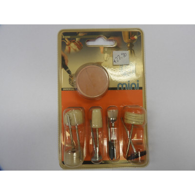 PG mini, Kit 9 accessories for cleaning and polishing, M.8250