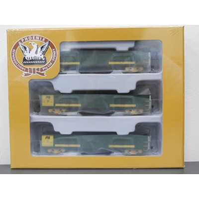 PHOENIX REPRODUCTIONS, Australian National AOGF - Open Wagon - GREEN / YELLOW, HO SCALE, ROLLING STOCK, FTO 314