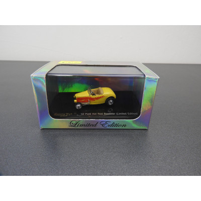 RICKO LIMITED EDITION, '32 Ford Hot Rod Roadster, SCALE 1:87, ITEM NO: 38497