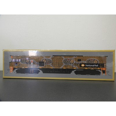 SDS Models, NR CLASS LOCOMOTIVE, HO SCALE, NR 52 - KUNGARA MANKURPA, NON-POWERED