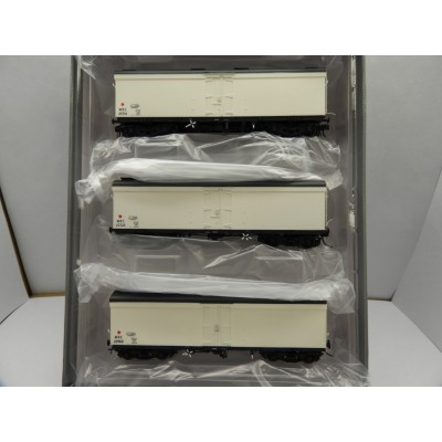 SDS Models, MRC REFRIGERATED VAN, HO SCALE, ROLLING STOCK, Pack D CLEAN WHITE