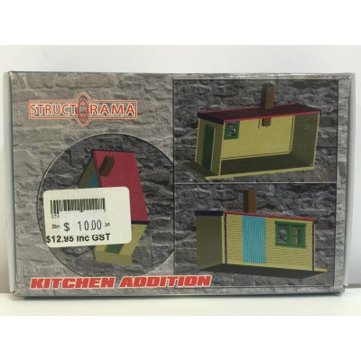 StructOrama, KITCHEN ADDITION, HO Scale, Structure Kit