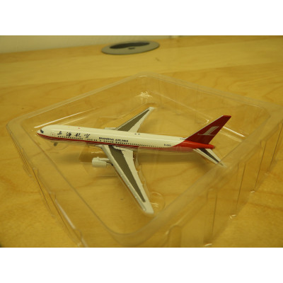 Sky, SHANGHAI AIRLINES BOEING 767-300, SCALE 1:500, DIECAST PLANE, SA o485x