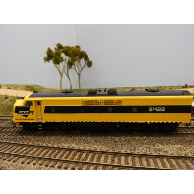 """LATEST RELEASE"" TrainOrama, GM Class Loco, HO Scale, SSR, GM22"