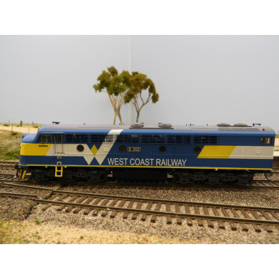 TrainOrama, West Coast Railway, S Class Locomotive, HO Scale, WCR S302