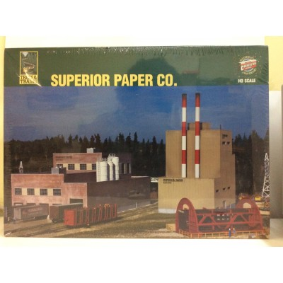 WALTHERS CORNERSTONE SERIES, SUPERIOR PAPER C0., HO SCALE, STRUCTURE KIT, 933-3060